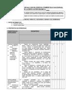 PLANIFICACION CURRICULAR MODELO 2° GRADO