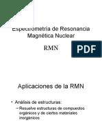 Espectrometría de Resonancia Magnética Nuclear