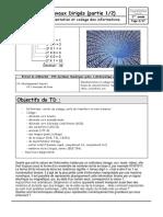 TD sur la representation et le codage des informations 1 sur 2