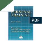 DocGo.Net-PERSONAL TRAINING - MANUAL PARA AVALIAÇÃO E PRESCRIÇÃO DE CONDICIONAMENTO FÍSICO - Walace Monteiro - LIVRO. (1)