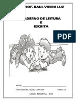 APOSTILA DE CALIGRAFIA E DITADO -  2018