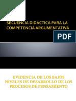 Secuencia Didactica Argumental