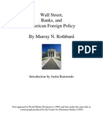 Wall Street, Banks, And American Foreign Policy Roth Bard)