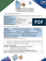 Guía de actividades y rúbrica de evaluación - Paso 1 - Actividad de reconocimiento inicial