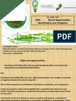 Risk & Opportunities EMS 14001