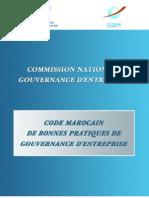 Code de Bonnes Pratiques de Gouvernance d'Entreprise