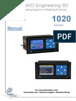 1020 series MANUAL 1020