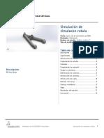 simulacon rotula-Análisis estático 1-1