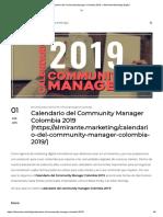 Calendario del Community Manager Colombia 2019 » Almirante Marketing Digital.pdf