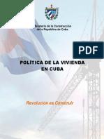 POLITICA GENERAL DE LA VIVIENDA