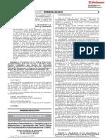 (02) RSGP N° 005-2018-PCM-SGP LINEAMIENTOS TUPA - EL PERUANO