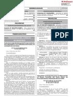 (03) RSGP N° 002-2019-PCM-SGP CRONOGRAMA ADECUACIÓN TUPA - EL PERUANO