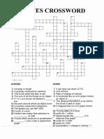 Forces (Double) Crosswords