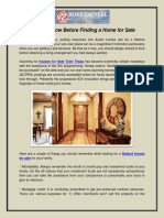 Tips to Follow Before Finding a Home for Sale
