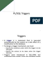 PL SQL Triggers