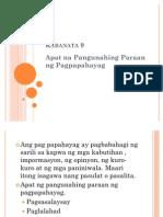 Filipino Report 2