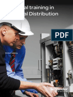 Technical training catalogue - Electrical distribution - 2012