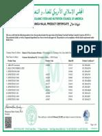 Hanko_1-20 hala sample certification