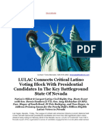 LULAC Connects Critical Latino Voting Block With Presidential Candidates in the Key Battleground State of Nevada (Recovered)