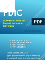 PDIC-Illustrative Cases on Deposit Insurance Coverage