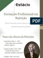 Formação Profissional em Nutrição II