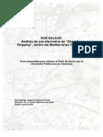 Análisis de Una Alternativa de Short Sea Shipping, Dentro Del Mediterráneo Occidental.