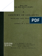 A Century of Collects (Alcuin Club)