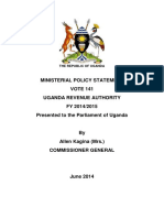 MINISTERIAL POLICY STATEMENT FY 2014-2015 VERSION 10