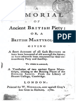 A British Martyrology (Bishop Challoner)