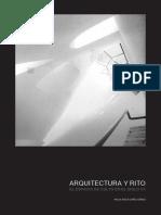 Paula Rocío López Gómez - Arquitectura y rito