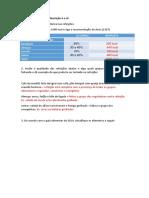 Exercícios de distribuição calórica e avaliação das refeições gabarito