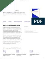 THUNDERSTORM Dynamic Ad Insertion _ Amagi