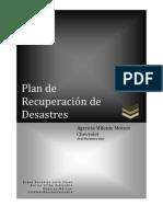 Plan de Recuperacion de Desastres
