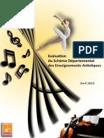Bilan-evaluation Schéma d'orientation de l'enseignement Artistique 95