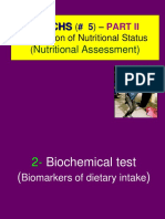 5  Evaluation of nutritional status -nutritional assessment - PART II.ppt