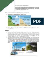 human and environment summary