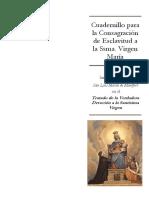 Consagración de Esclavitud a la Santísima Virgen María - Carpeta - Rev 33.pdf