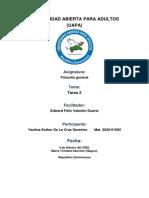 TAREA II FILOSOFIA GENERAL.docx