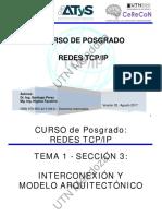 TEMA 1 SECCION 3 (Interconexión y Modelo Arquitectónico)