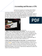 How to Study Accounting and Become a CPA.docx