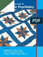 Clinical Manual of Geriatric Psychiatry - Thakur, Mugdha E. [SRG]