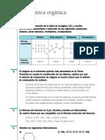 Química Resueltos(Soluciones) Orgánica 1º Bachillerato