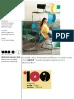 Workshop Bauhaus 1919-2019