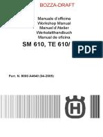 Husqvarna Manuale Officina Sm610.pdf