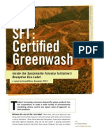 sfi-certified-greenwash report forestethics