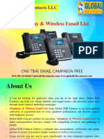 Telephony & Wireless Email List
