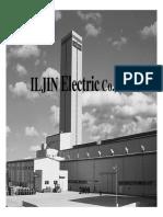 Company_Introduction(ILJIN_Electric)_2009_Latest