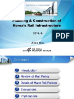 lecture. (Dr Moon jin soo) Planning and construction of Koreas rail infrastructure
