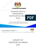 Introduction to Preferential to Certificate of Origin_UPDATED