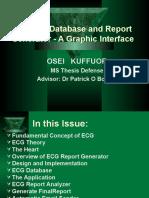ECG Report Generator Portable